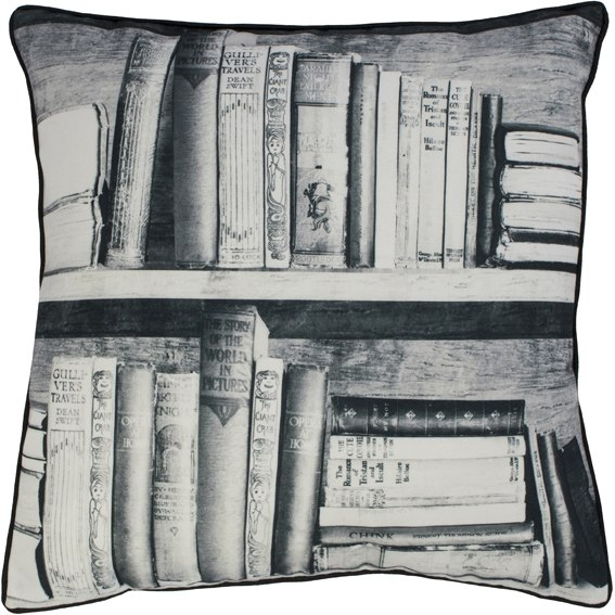 Photocopy Bookshelf cushion