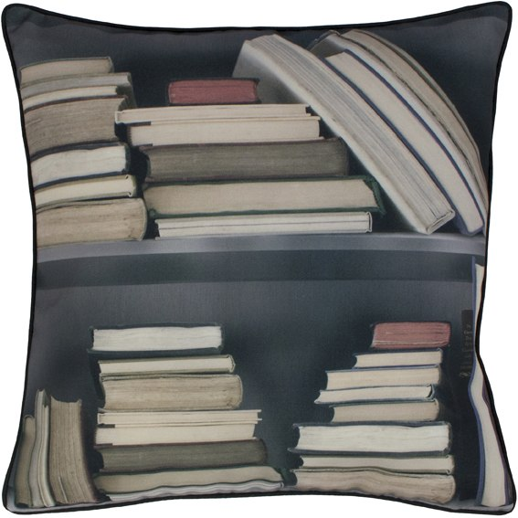 Vintage Bookshelf cushion