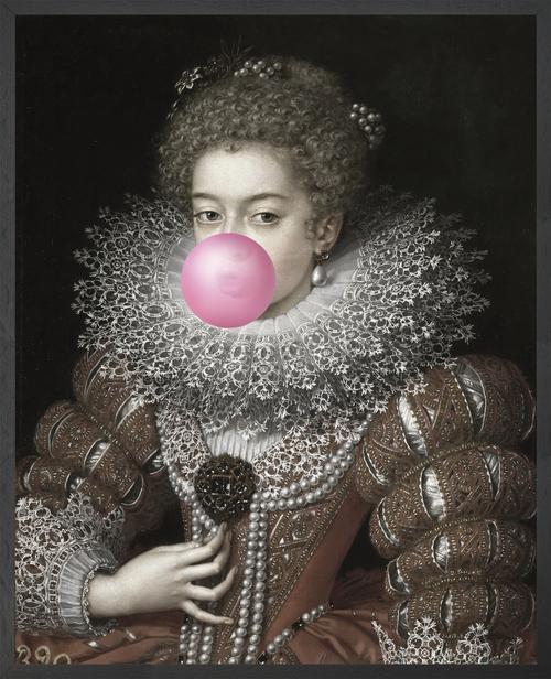 Bubblegum Portrait