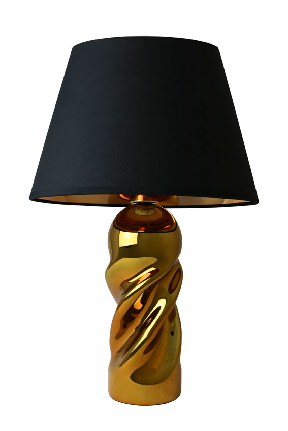 gold mirror lamp
