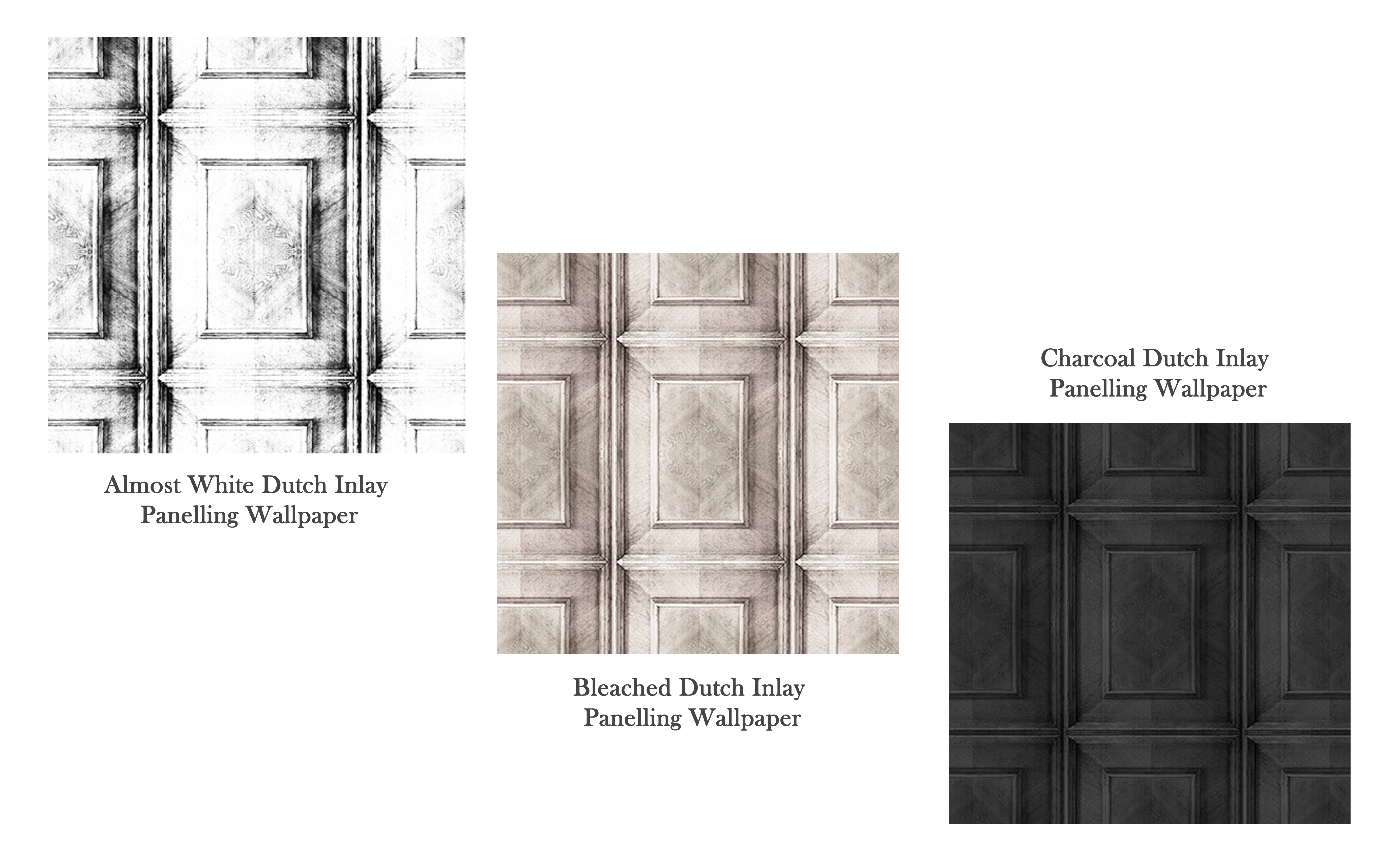 Dutch Inlay Panelling Wallpaper collection