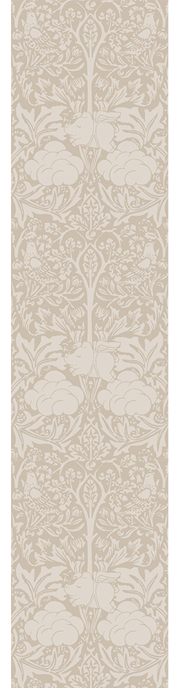 beige and taupe morris dream wallpaper