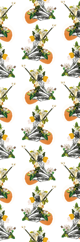 Orange Saudade wallpaper